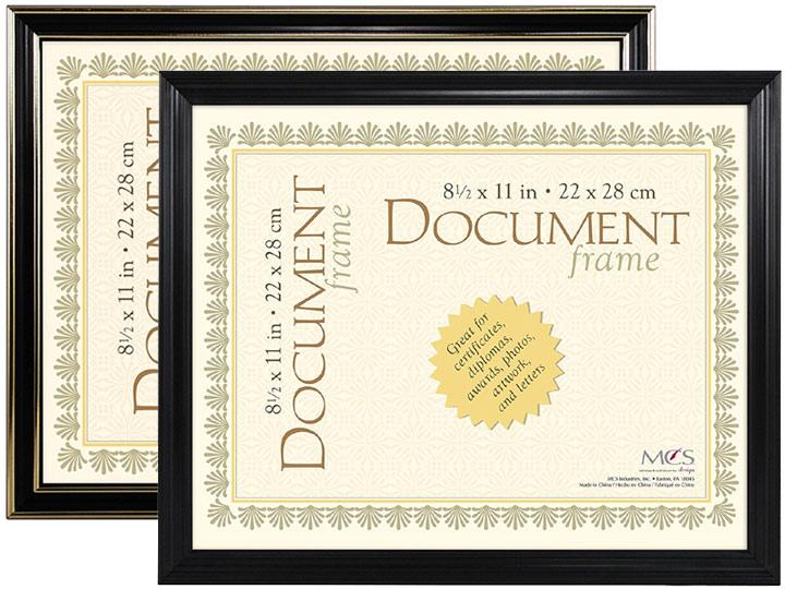 MCS Economy Document Frame 8.5x11