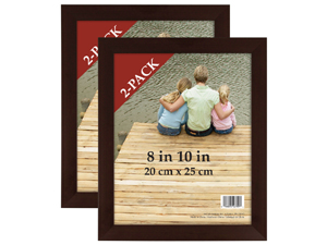 MCS 8x10 Economy Flat Top Picture Frame (2 Pack)