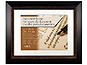 MCS Fairmont 11x14 Diploma Frame Matted For 8.5x11 Espresso