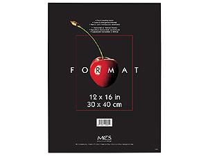 MCS Format Frame 12x16 Black