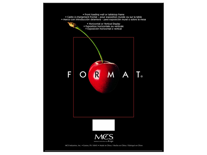 Mcs Format Frame 9x12 Black Thisextracapacityphotoalbum
