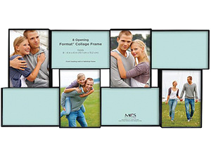 MCS Format Collage Frame With 8-4x6 Openings