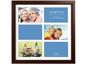 MCS Flat-Top Collage Frame For Six 4x6