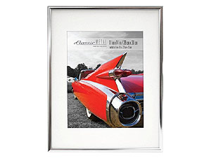 MCS 8x10 Gallery Aluminum Picture Frame w/Mat