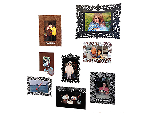 Self Adhesive Wall Frames (112 Frame Assortment)