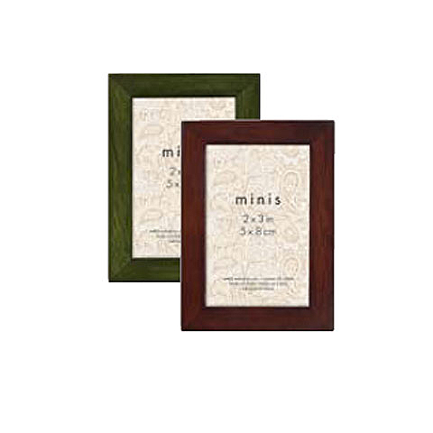 MCS Jewel Tone Wood Frames 2x3 - Assorted Colors (Box of 24)