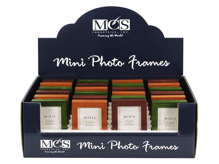 Mcs Jewel Tone Wood 2x3 24 Orted Color Frames