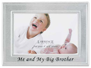 Lawrence Big Brother 4x6 Picture Frame