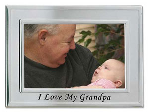 Lawrence I Love My Grandpa 4x6 Picture Frame