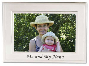 Lawrence Me & My Nana 4x6 Picture Frame
