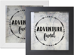 Lawrence 8x8 Adventure Fund Shadow Box Frame