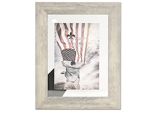 Lawrence 4x6 Arden Natural Gray & Glass Float Frame