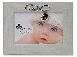 Lawrence 6x4 Infinity Expression Frame - Baby Feet