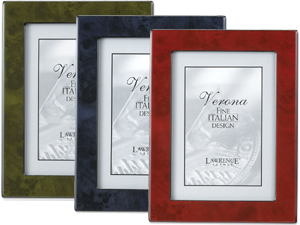 Lawrence Verona 8x10 Faux Burl Wood Picture Frame