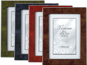 Lawrence Verona 5x7 Faux Burl Wood Picture Frame