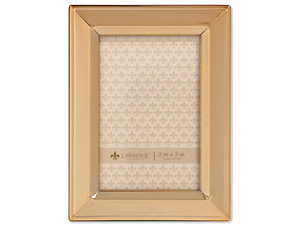 Lawrence 2x3 Classic Bevel Gold Metal Picture Frame
