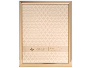 Lawrence 8x10 Classic Bevel Gold Metal Picture Frame