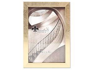 Lawrence 4x6 Chloe Contemporary Gold Frame