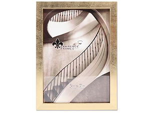 Lawrence 5x7 Chloe Contemporary Gold Frame