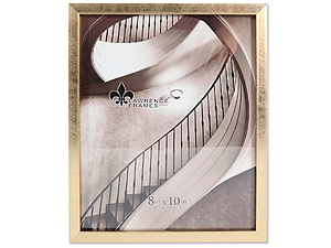 Lawrence 8x10 Chloe Contemporary Gold Frame