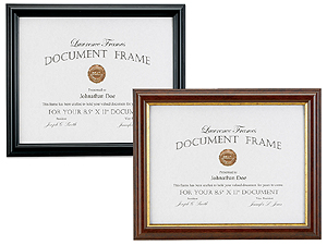 Lawrence 8.5x11 Classic Document Frame