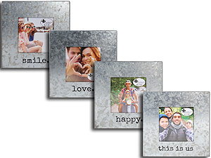 Lawrence 4x4 Square Cooper Galvanized Metal Frame
