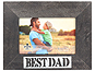 Lawrence 4x6 Best Dad Antique Black Frame