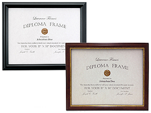 Lawrence 11x14 Classic Diploma Frame