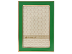 Lawrence 4x6 Emerald Green & Gold Picture Frame