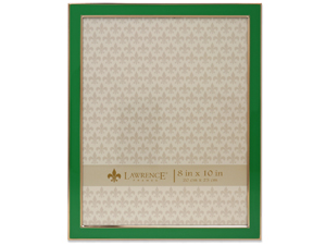 Lawrence 8x10 Emerald Green & Gold Picture Frame