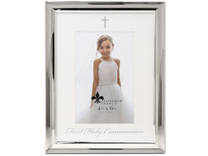 Lawrence 4x6 Foiled Expressions Frame - First Holy Communion