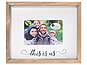 Lawrence 4x6 Farmhouse Wood Frame - This is Us