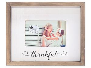 Lawrence 4x6 Farmhouse Wood Frame - Thankful