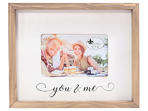 Lawrence 4x6 Farmhouse Wood Frame - You and Me