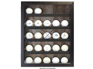 Lawrence 11x14 Golf Ball Shadow Box Display Case