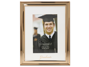 Lawrence 4x6 Foiled Expressions Frame - Graduate