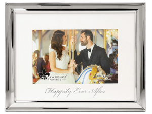 Lawrence 4x6 Foiled Expression Frame - Happily Ever After