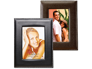 Lawrence Stitched Leather Picture Frames
