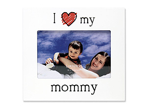 Lawrence 4x6 I Love My Mommy Picture Frame