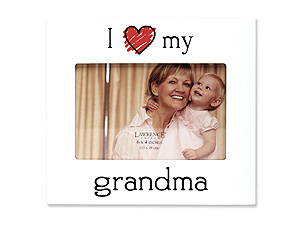 Lawrence 4x6 I Love My Grandma Picture Frame