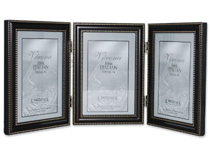 Lawrence Oil Rubbed Bronze Metal Triple Frame For 4x6