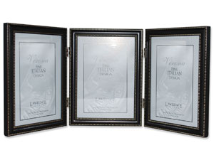 Lawrence Oil Rubbed Bronze Metal Triple Frame For 5x7