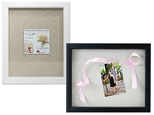 Lawrence Scrapbook Shadow Box Frame 11x14