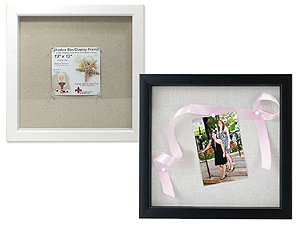 Lawrence Scrapbook Shadow Box Frame 12x12