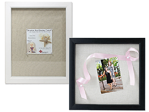 Lawrence Scrapbook Shadow Box Frames