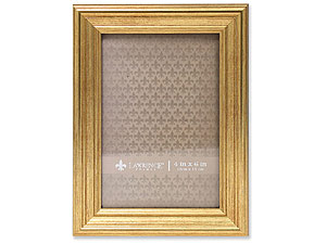 Lawrence Sutter Burnished Gold Frame For 4x6