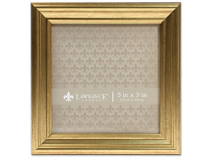 Lawrence Sutter Burnished Gold Frame For 5x5