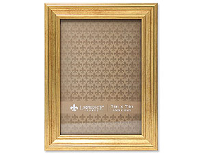 Lawrence Sutter Burnished Gold Frame For 5x7