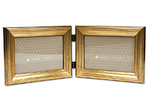 Lawrence Sutter Burnished Gold Frame For 6x4 Double