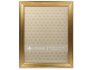 Lawrence Sutter Burnished Gold Frame For 8-1/2x11